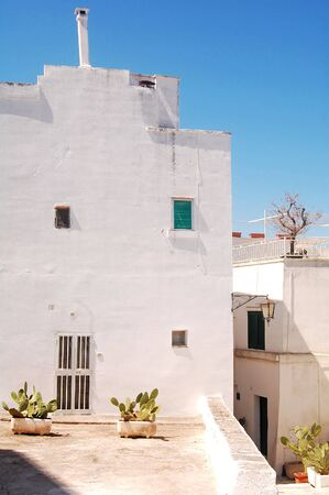 unique characteristics: Glimpse of Ostuni The White City of the Murgia - Apulia - Italy Editorial