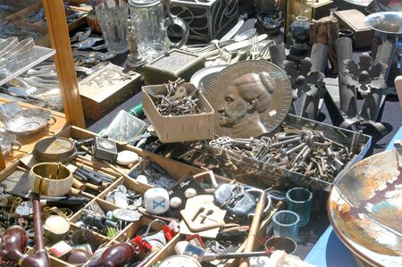 used items: Rare items and used of the Vienna flea market in Austria