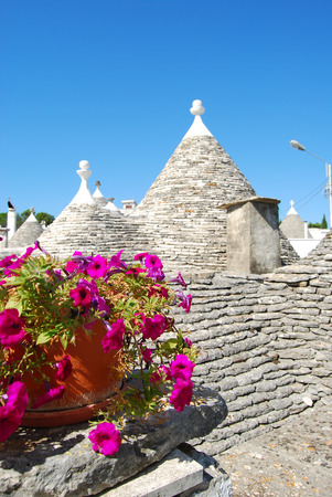 characteristic: A characteristic roof of Trulli of Alberobello - Apulia - Italy