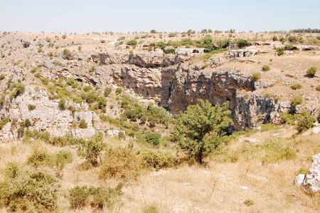 high plateau: The plateau of the high Murgia near Matera - Basilicata - Italy