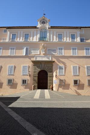 apostolic: The Apostolic Palace of Castel Gandolfo seat of the Popes holidays - Lazio