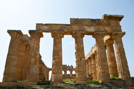 Panoramic view of the archaeological area of Agrigento 09