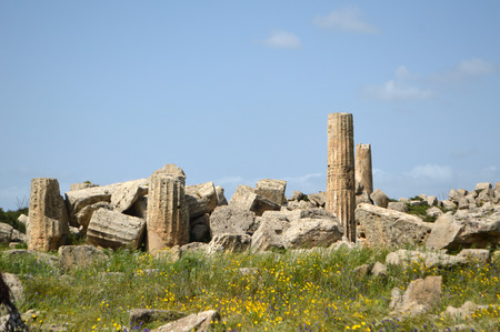 Panoramic view of the archaeological area of Agrigento 017