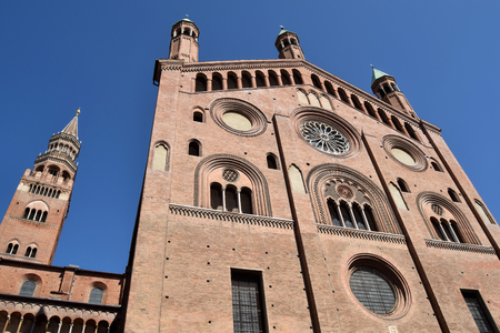 View of the Cathedral of Cremona - Lombardy - Italy Stock Photo