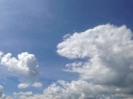 Sunny afternoon sky Banco de Imagens