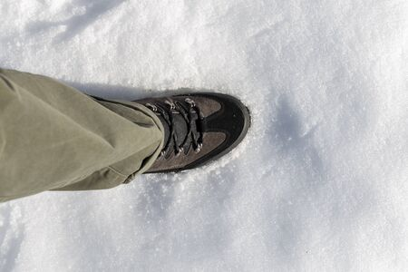 Me stepping on the snow in the port of San Glorio in Cantabria, Spain. Enjoying the holidays in a beautiful place