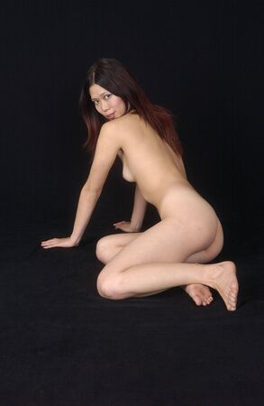 erotic strip with a young asian woman