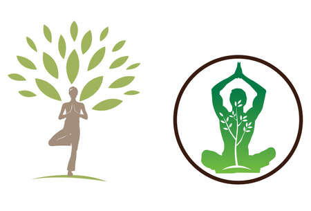 Yoga A great design for promoting health lifestyle and flexibility. Could also be used for yoga practice company or marketing.