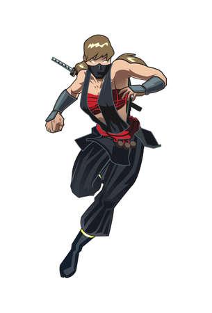 Female Ninja Girl