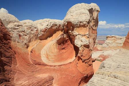 White Pocket in the Vermilion Cliffs National Monument, Arizona Фото со стока