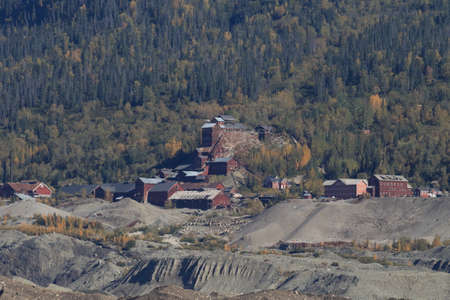 Kennecott copper Mine, Wrangell-St.Elias NP, Alaska,