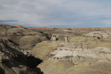 Bisti badlands,New Mexico, USA