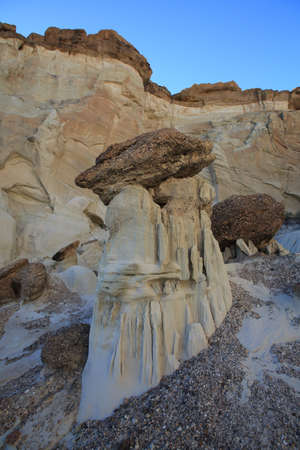Wahweap Hoodoos are spectacular sandstone formation in the southern Utah desert at the edge of the Grand Staircase-Escalante National Monument,USA