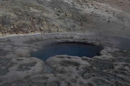 Sulphur Spring Mounten (Crater Hills Geyser) Yellowstone NP USA