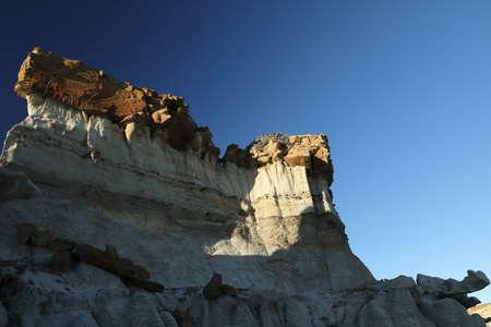 Bisti badlands, De-na-zin wilderness area, New Mexico