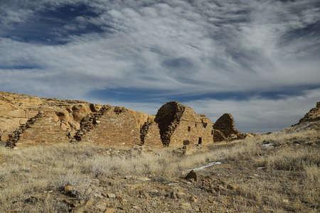 Pueblo del Arroyo - Chaco Culture National Historical Park New Mexico USA