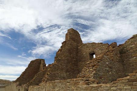 Pueblo Bonito in Chaco Culture National Historical Park in New Mexico, USA