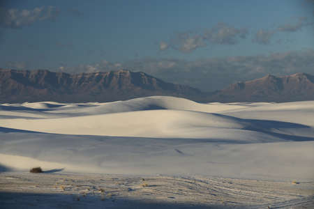 White Sands National Monument New Mexico USA