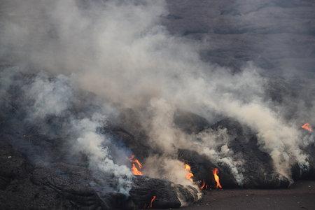 Hawaii's Kilauea volcano spews lava through Leilani Estates Hawaii