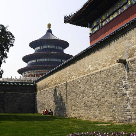 The temple of heaven in Beijing, China photo