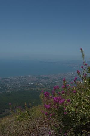 naples: Bay of Naples from Mt Vesuvius