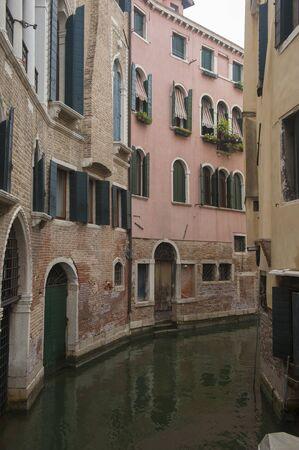 gondoliers: Quiet Venetian Canal