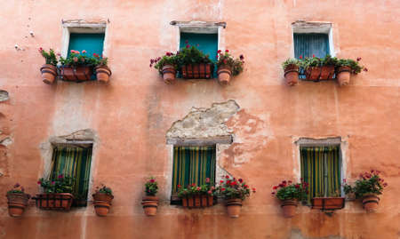 Italian Windows, Deruta, Umbria