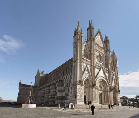 orvieto: Catedral de Orvieto, Umbria, Italia