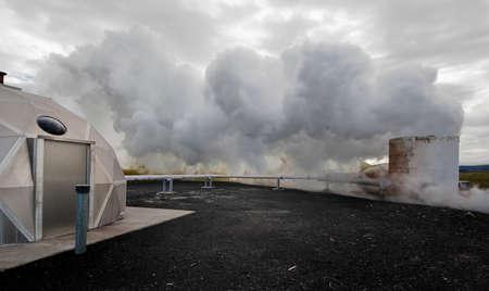 powerstation: Geothermal powerstation, Iceland