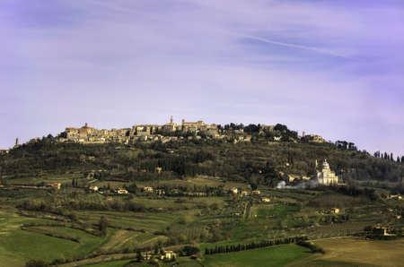 montepulciano: City of Montepulciano, Tuscany, Italy
