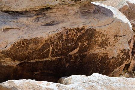 indian artifacts: Petroglyphs, Puerco Pueblo , Arizona
