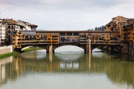 Ponte Vecchio in Florence Stock Photo - 4725088