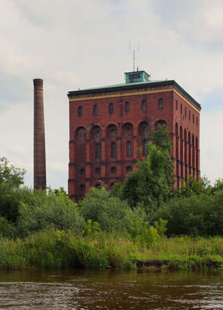 pumping: Wroclaw, Poland. Old pumping station Stock Photo