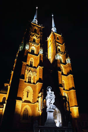 Mary with Jesus, St. John`s Cathedral in Wroclaw, Poland photo