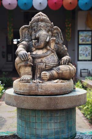 Ganesha Elephant God statue photo