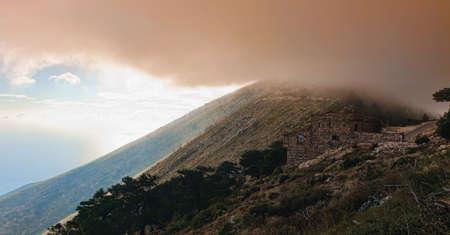 Llogara pass, Albania photo