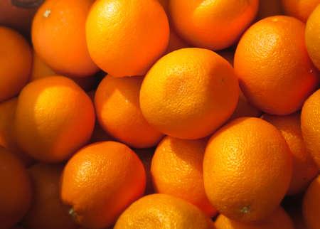Fresh and ripe orange fruits Stock Photo - 8198359