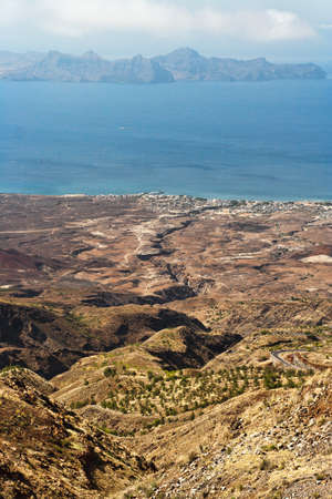 San Antao, Cape Verde from foggy mountains, the only place with a little humidity