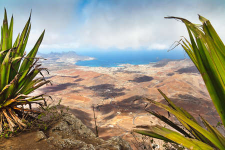 Cape Verde from Monte Verde with Calhau in the background