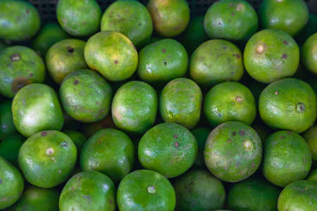 Fresh lime fruits from at local thai market Stock Photo - 8674809