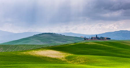 Val dOrcia, is one of the most attractive places in Tuscany.