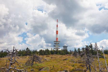 brocken: Brocken berg in Harz,Germany