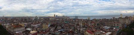 Havana, Cuba. Panorama og the old town