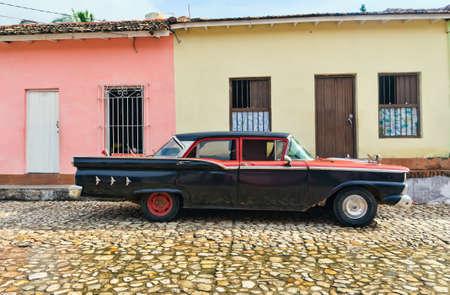 Trinidad, Cuba. View of Trinidad street. Stock Photo - 11148985