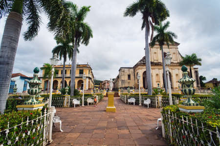 Trinidad, Cuba. View of Trinidad street. Stock Photo - 11215014