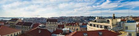 Panorama of Lisbon, Portugal Stock Photo