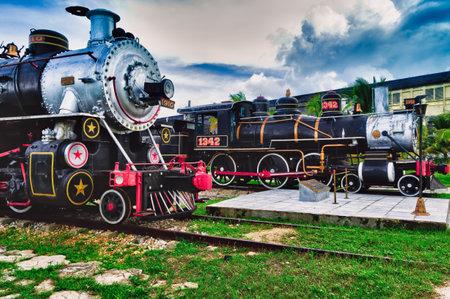 Tourist sugar trains, Santa Clara, Cuba