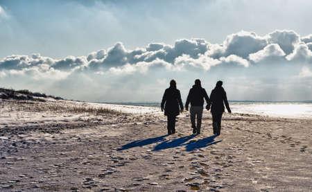 jutland: Wadden sea in Esbjerg, Denmark
