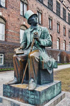 Monument  in Copenhagen for Hans Christian Andersen