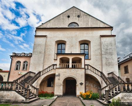 Old Synagogue Izaaka in Kazimierz district of Krakow, Poland